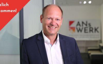 Rüdiger Busch ist der Netzwerkmanager im ANsWERK
