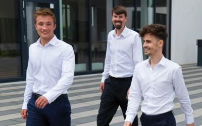 Gründerzug nimmt Fahrt auf: Erste Start-ups am ANsWERK
